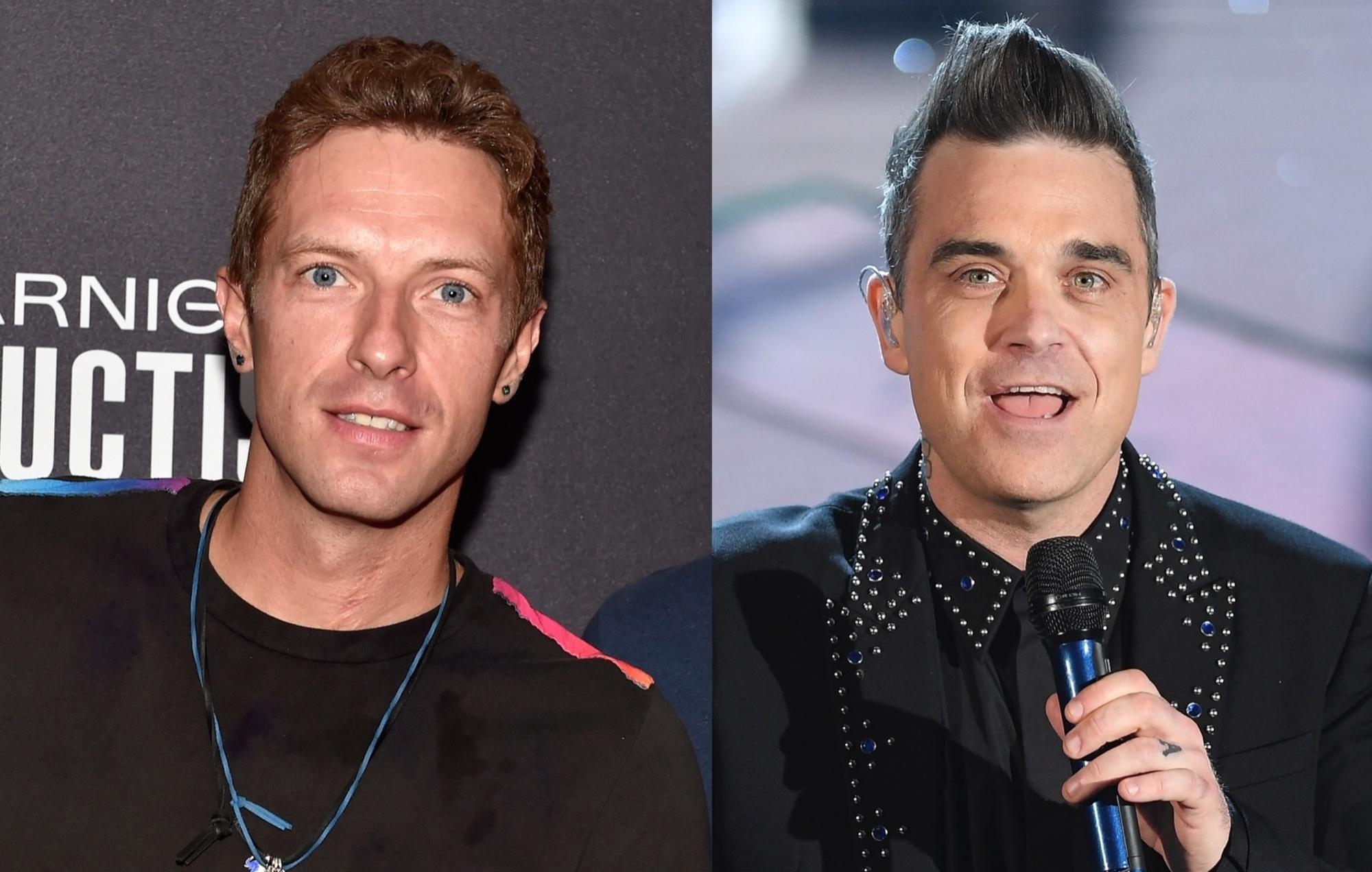 Coldplay Robbie Williams