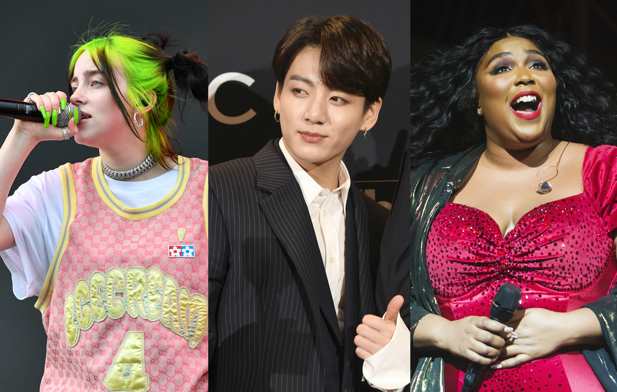 grammys nominations a billie eilish sweep bts snub and lizzo shocker a billie eilish sweep bts snub and