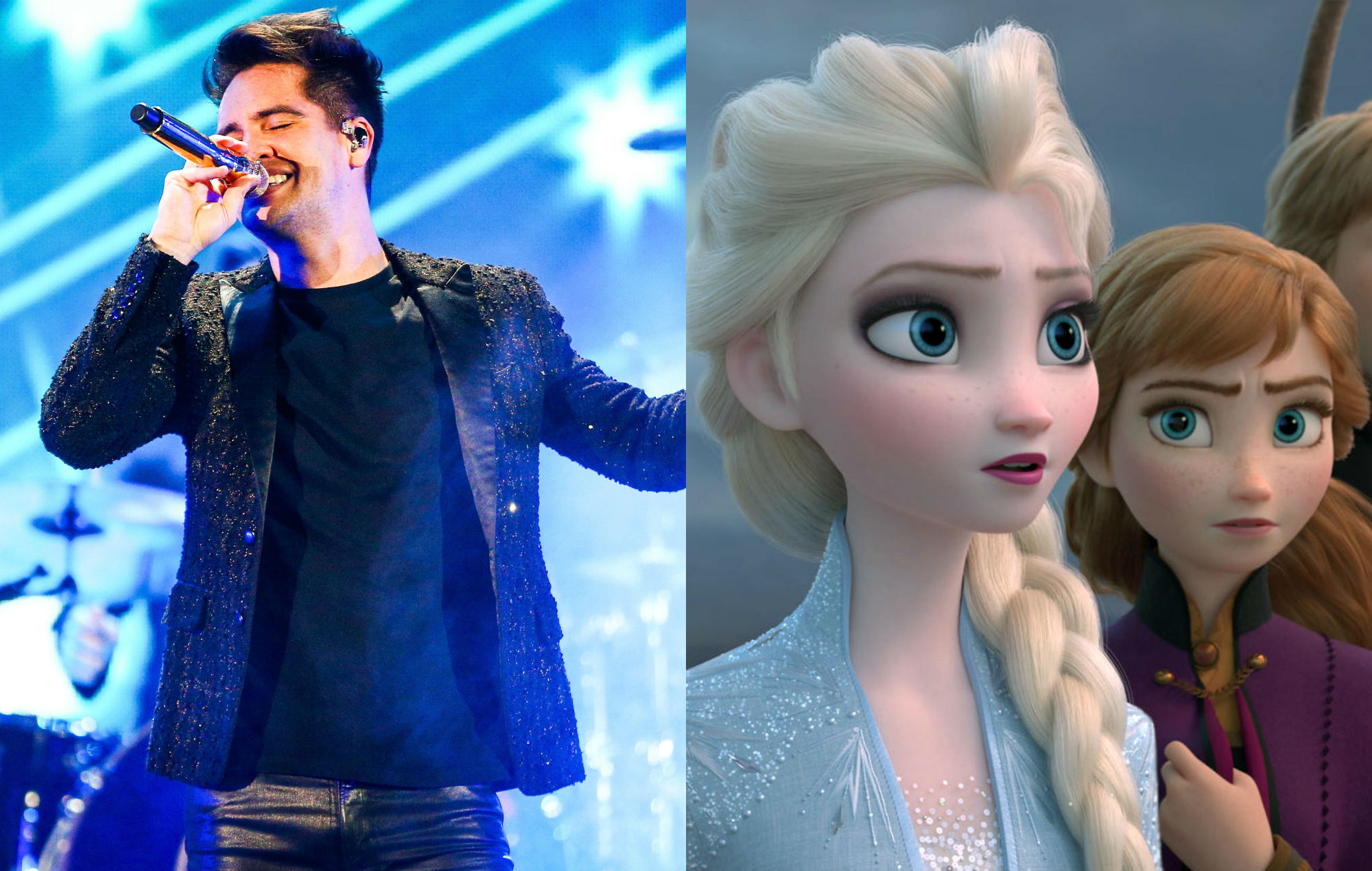 Brendon Urie Panic at the Disco Frozen 2 Into the Unknown