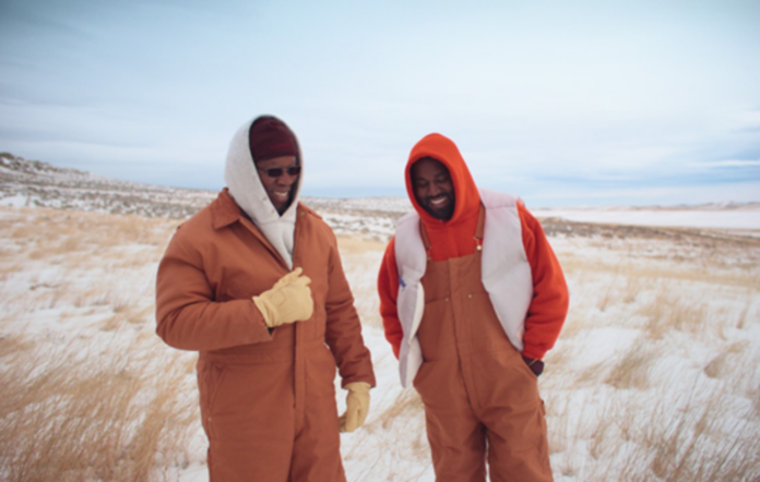 Ray West and Kanye West in 'Follow God'