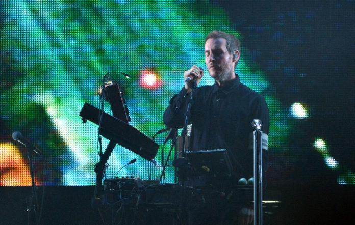 Robert Del Naja, aka 3D, of Massive Attack
