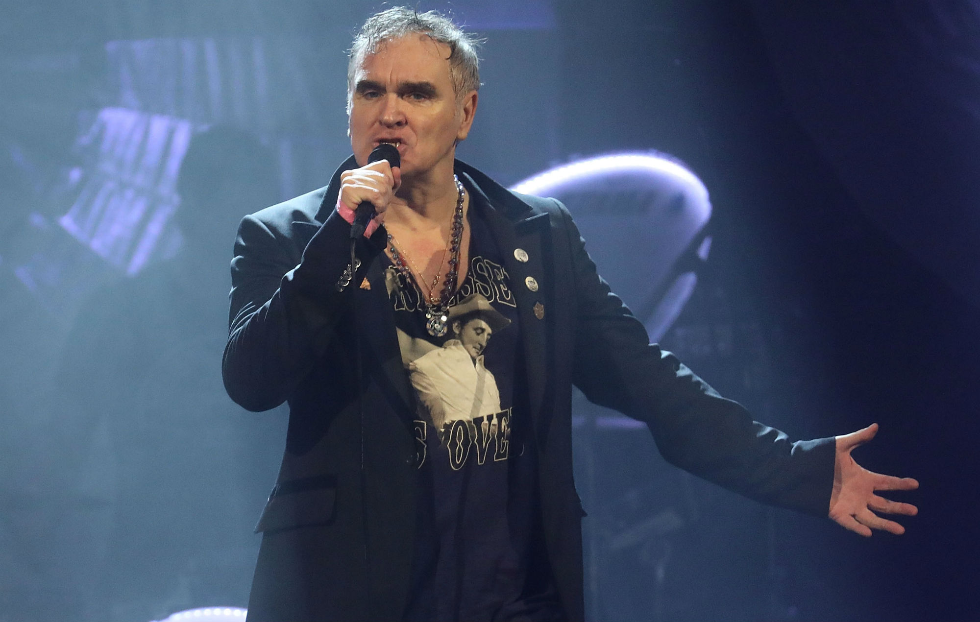 """Rescheduled: Morrissey Taking Sin City By Storm With Five-night Residency """"Morrissey: Viva Moz Vegas"""" At The Colosseum at Caesars Palace"""
