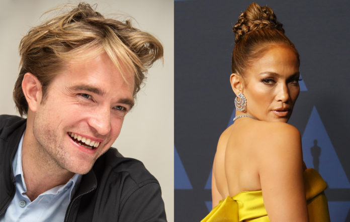 Robert Pattinson and Jennifer Lopez