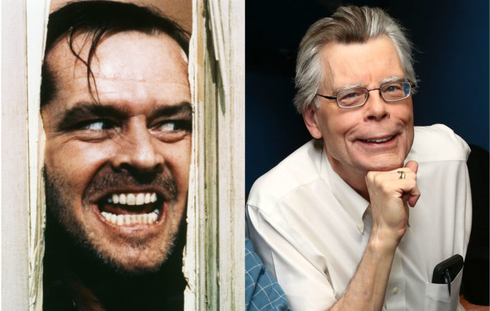 Jack Nicholson in 'The Shining' / Stephen King