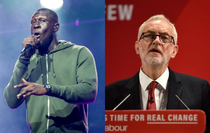 Stormzy Labour Jeremy Corbyn