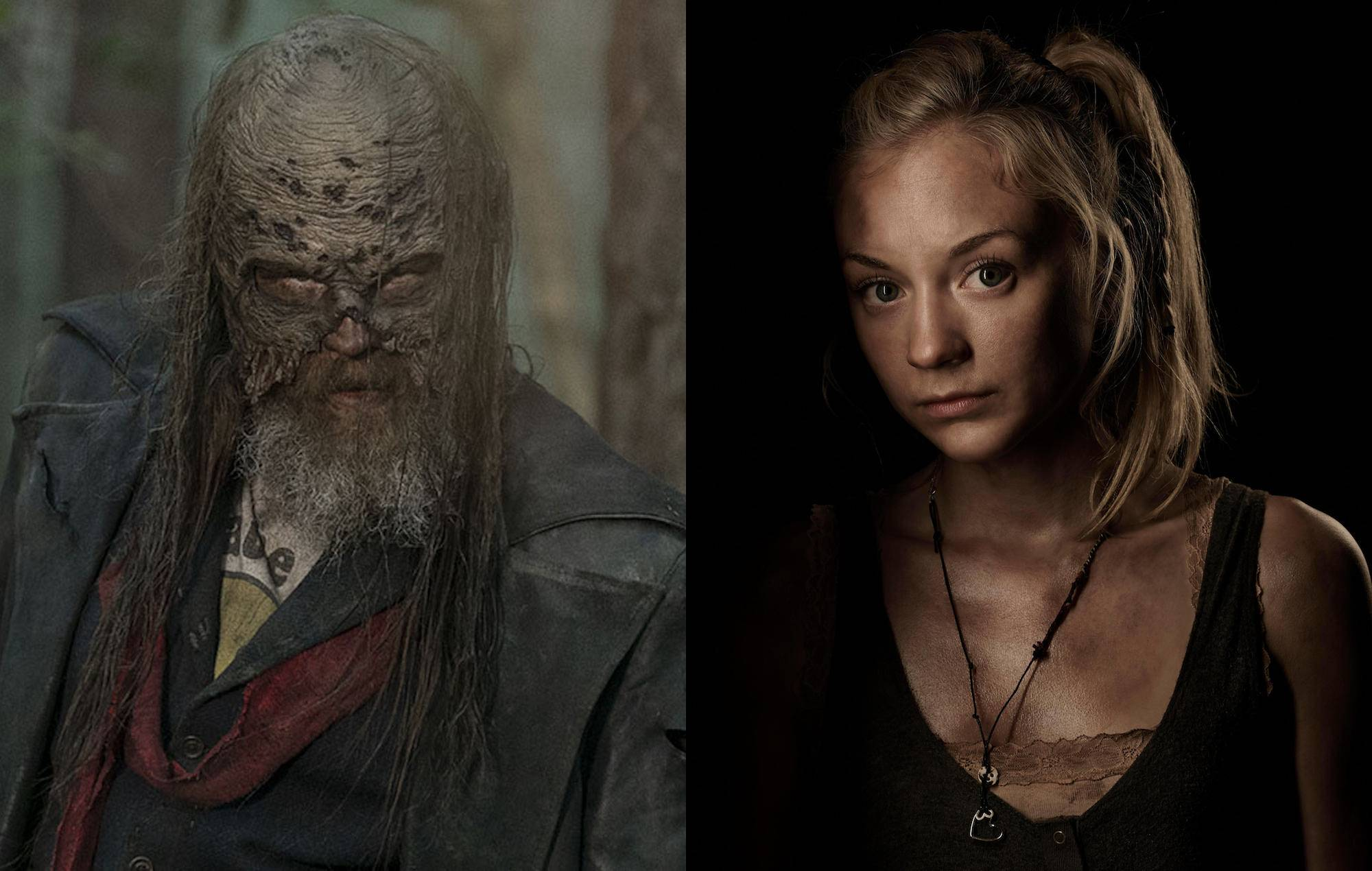 Beta and Beth Greene in The Walking Dead