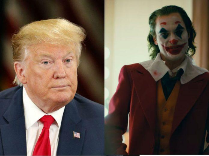 Donald Trump and Joker comp