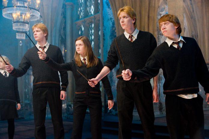 Harry Potter's Weasley family