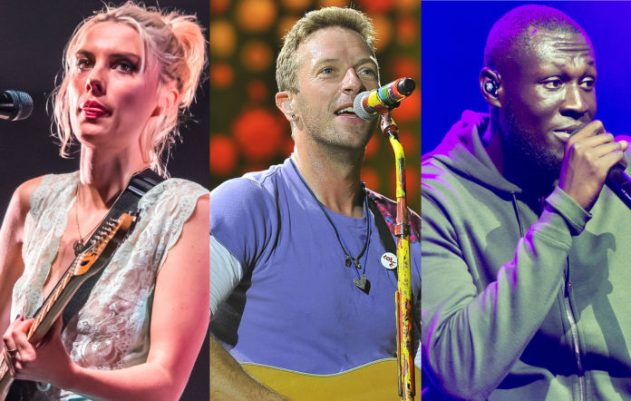 Wolf Alice Ellie Rowsell Coldplay Chris Martin Stormzy