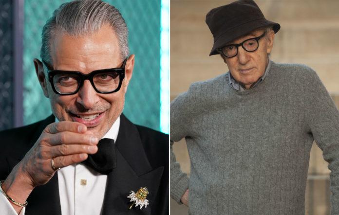 Jeff Goldblum and Woody Allen