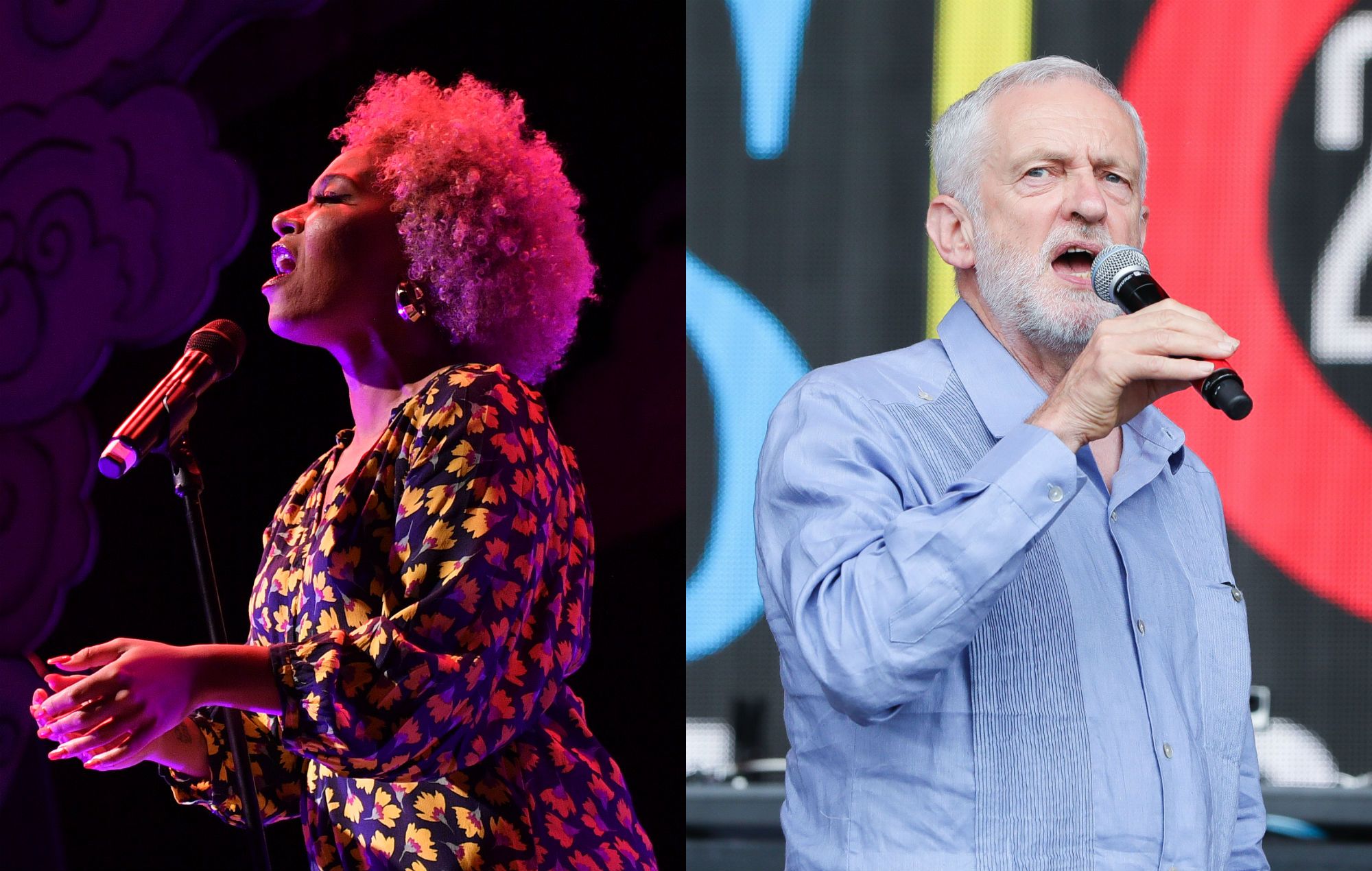 Emeli Sandé has shared a new video in support of Jeremy Corbyn.