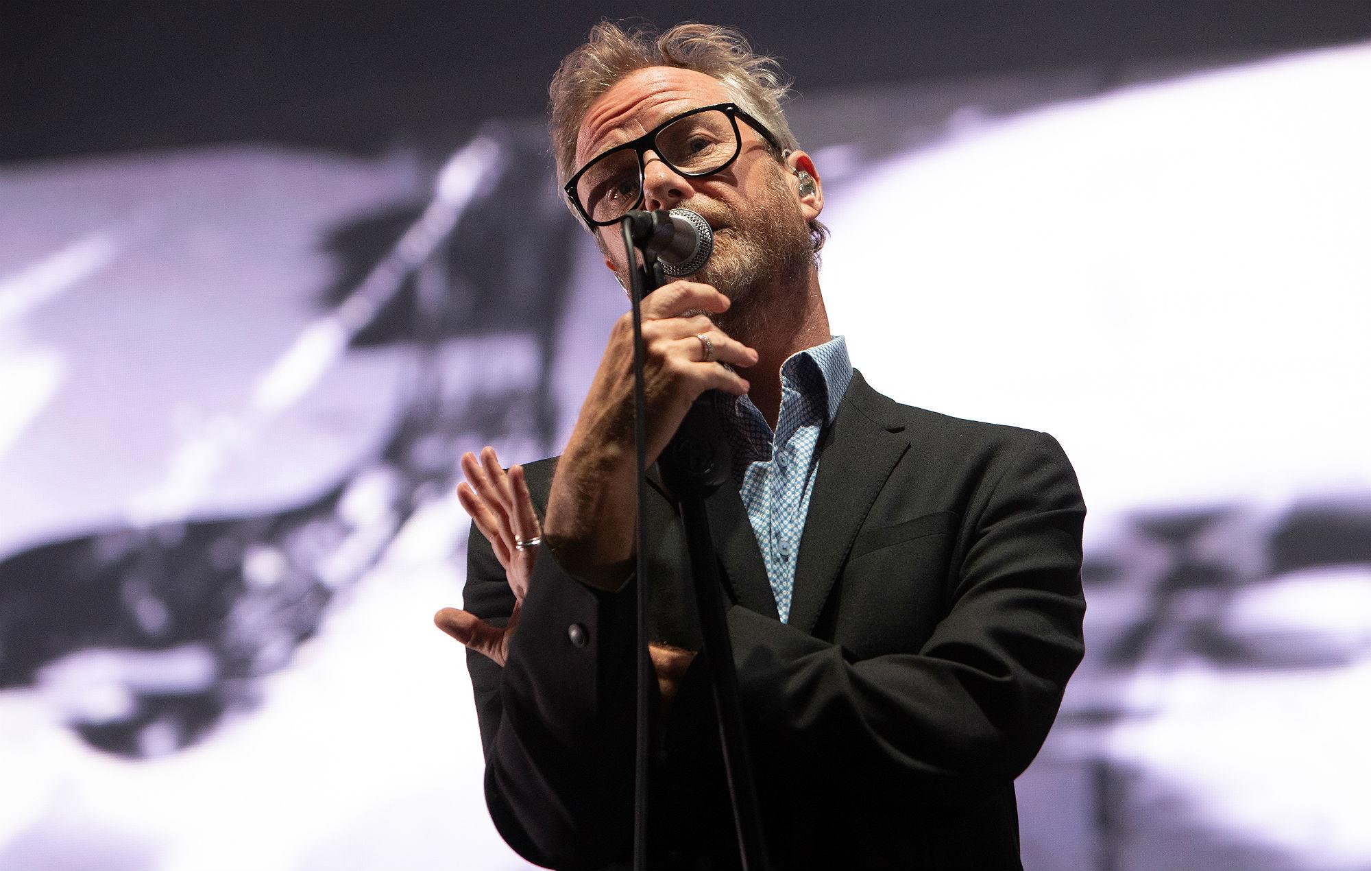 The National's Matt Berninger live at The Brighton Centre.