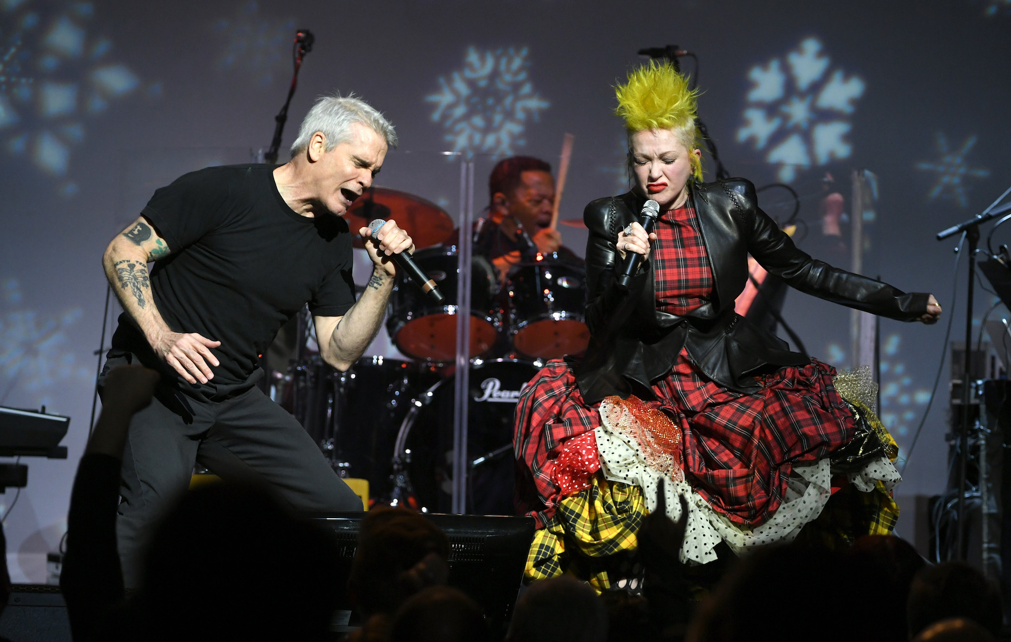 Watch Cyndi Lauper join Henry Rollins to cover Black Flag's 'Rise Above'