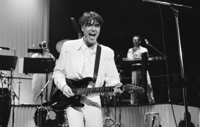 Talking Heads' David Byrne