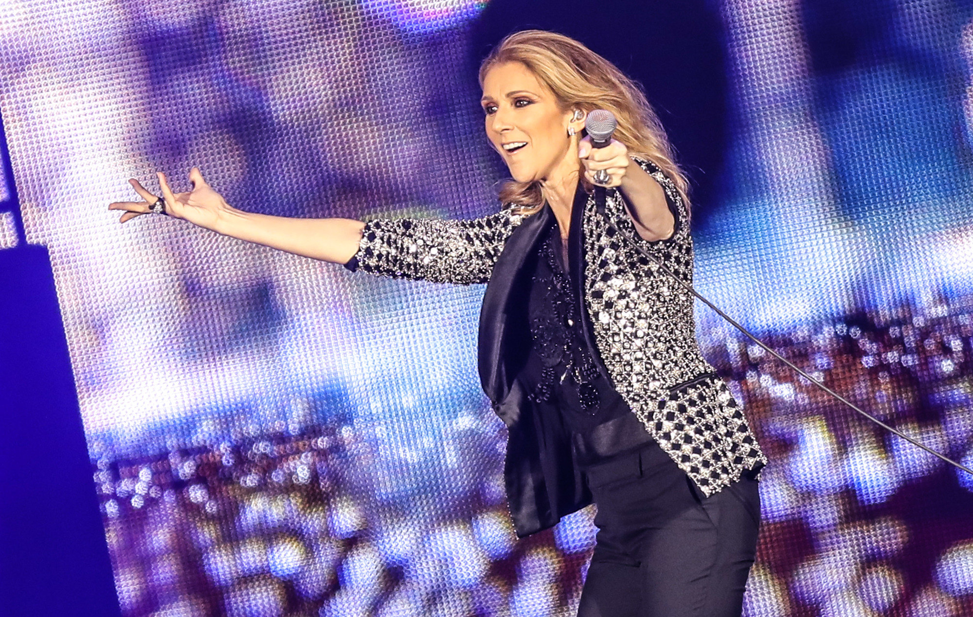 Celine Dion's 'Courage' suffers biggest chart fall ever for an album debuting at Number One