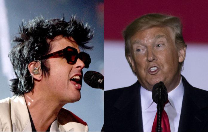 Green Day Billie Joe Armstrong Trump