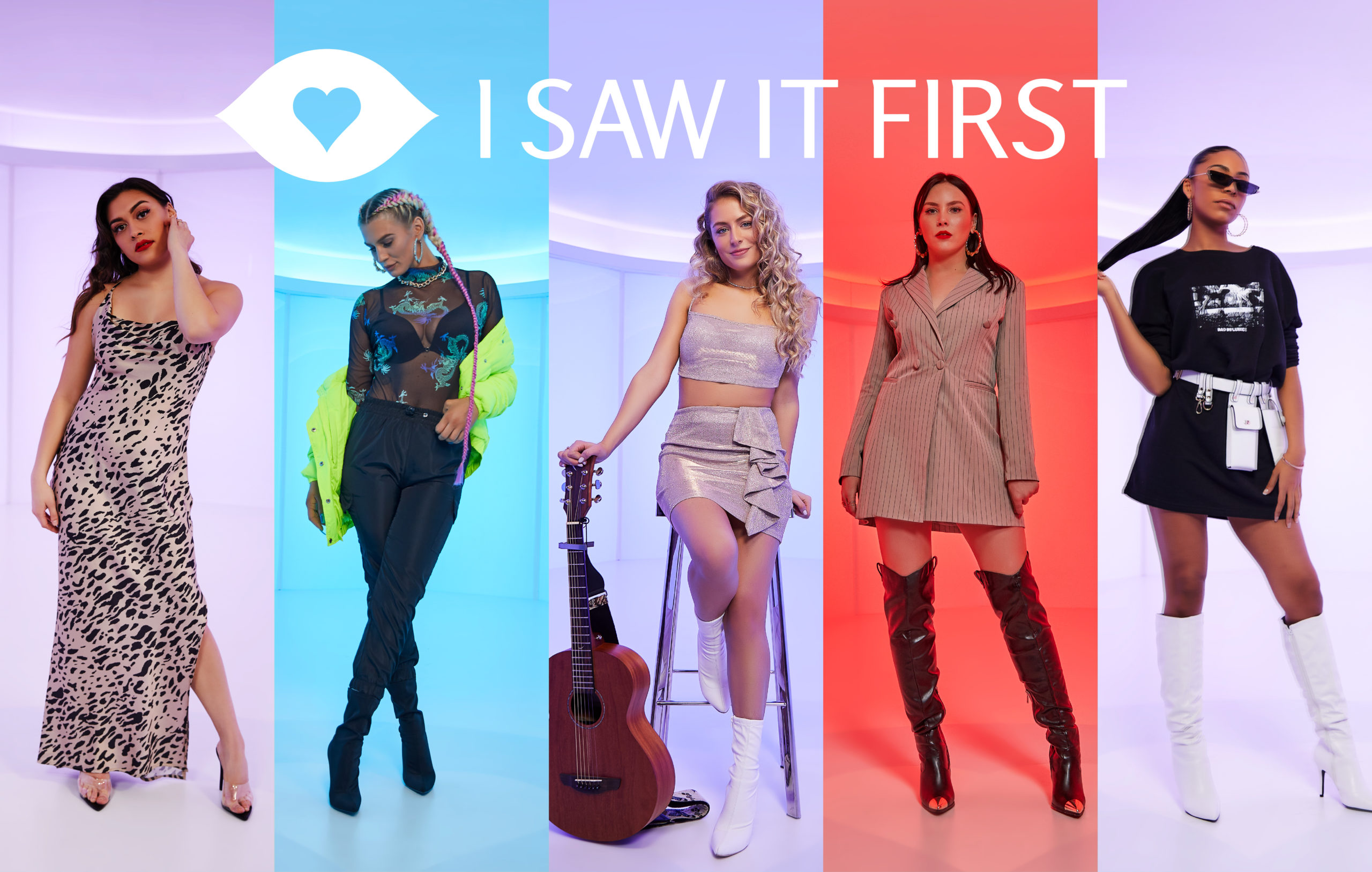 Discover your new favourite artist with I Saw It First
