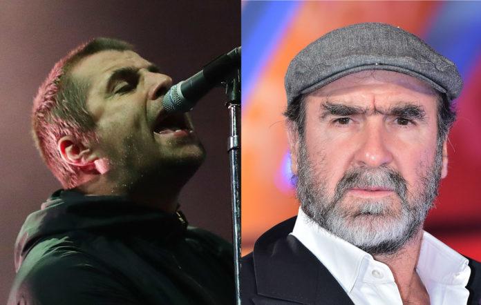 Liam Gallagher Eric Cantona