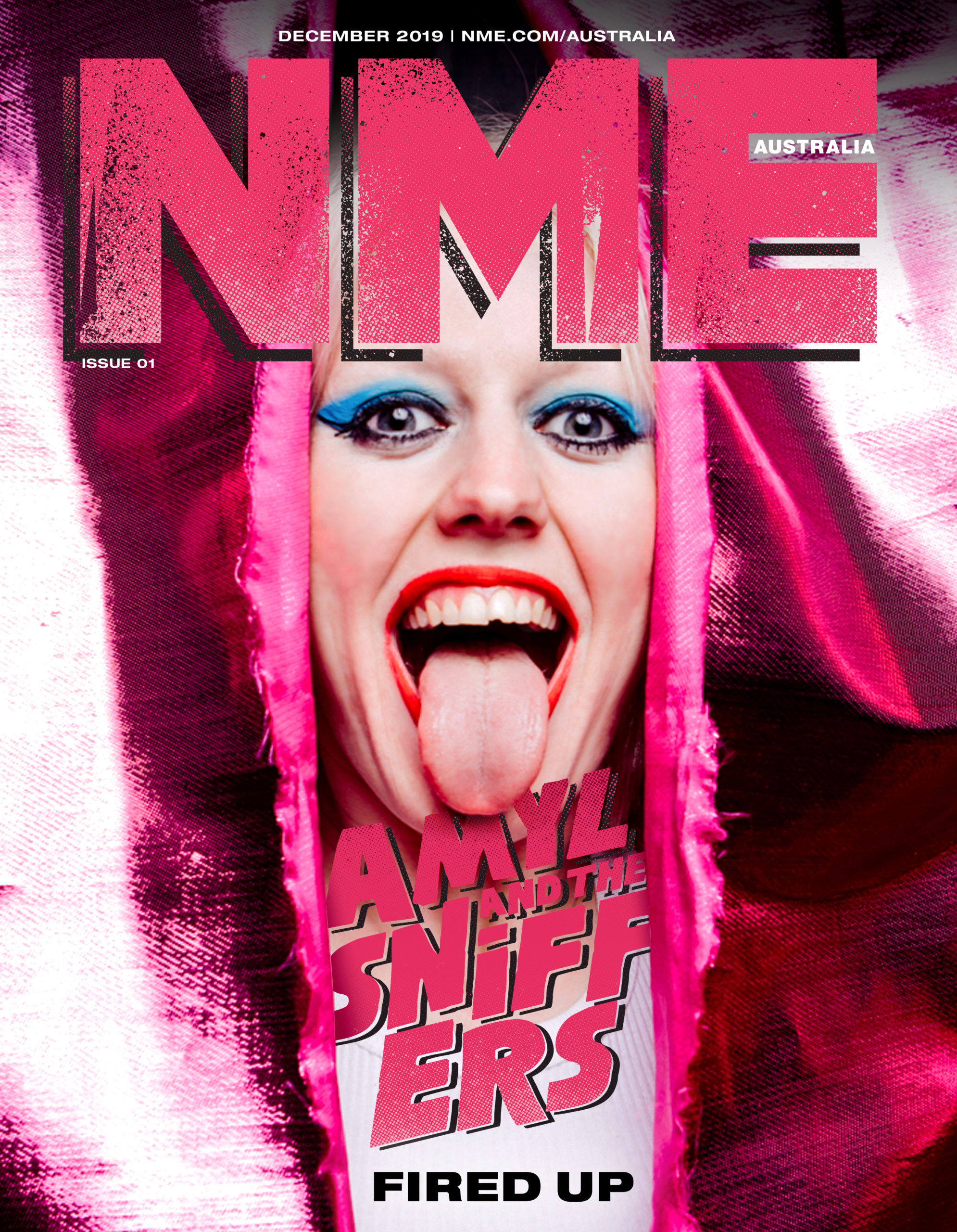 Amyl & The Sniffers - NME Australia Issue 01 Cover