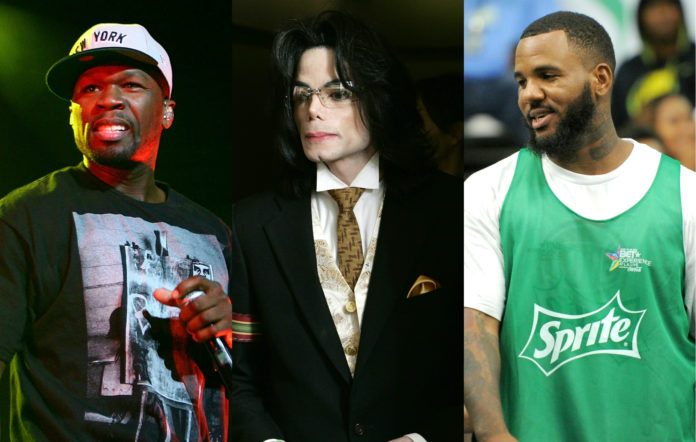 50 Cent, Michael Jackson, The Game