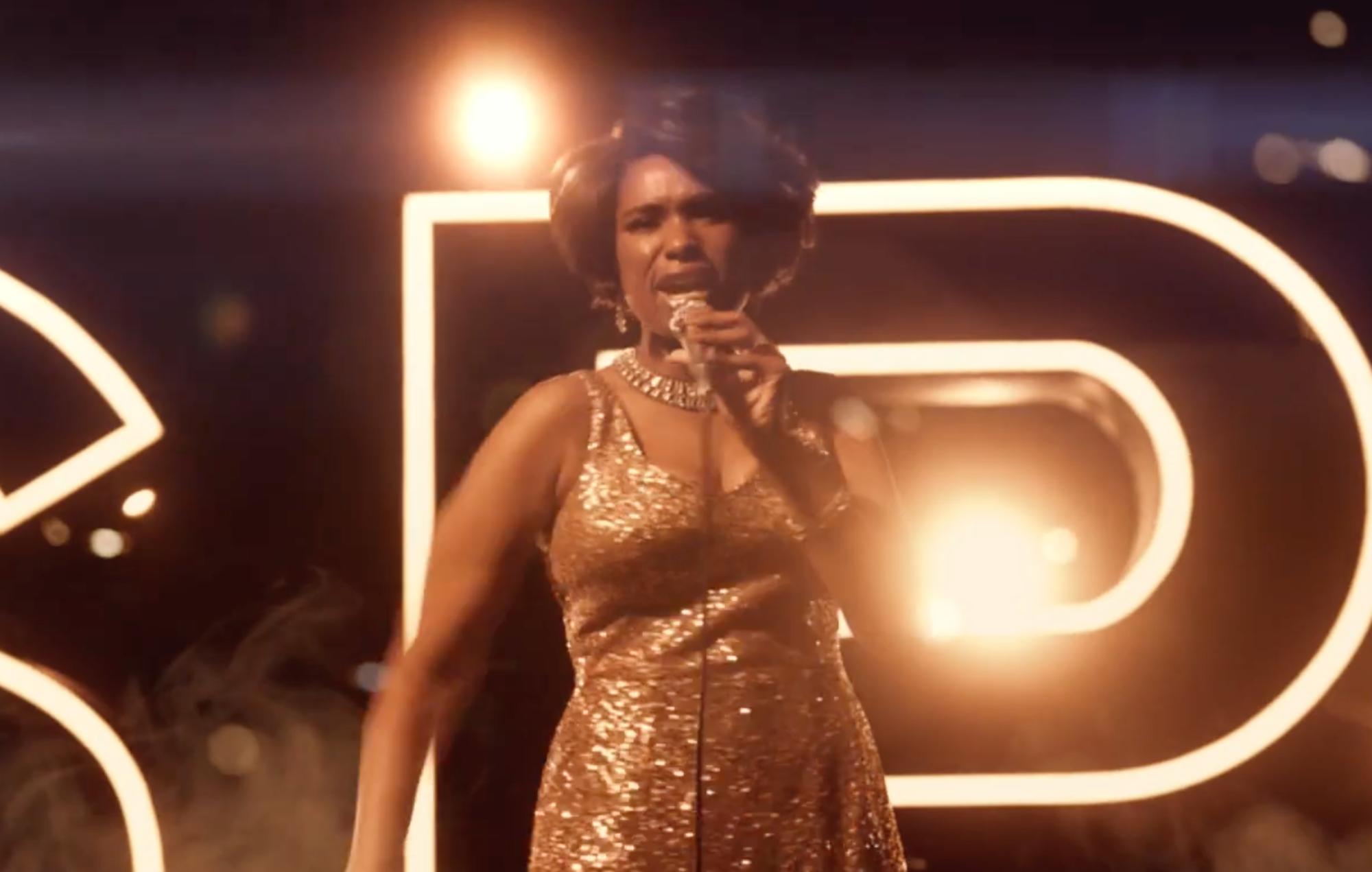 Jennifer Hudson shines as Aretha Franklin in teaser trailer for 'RESPECT'