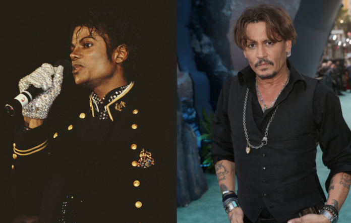Michael Jackson and Johnny Depp