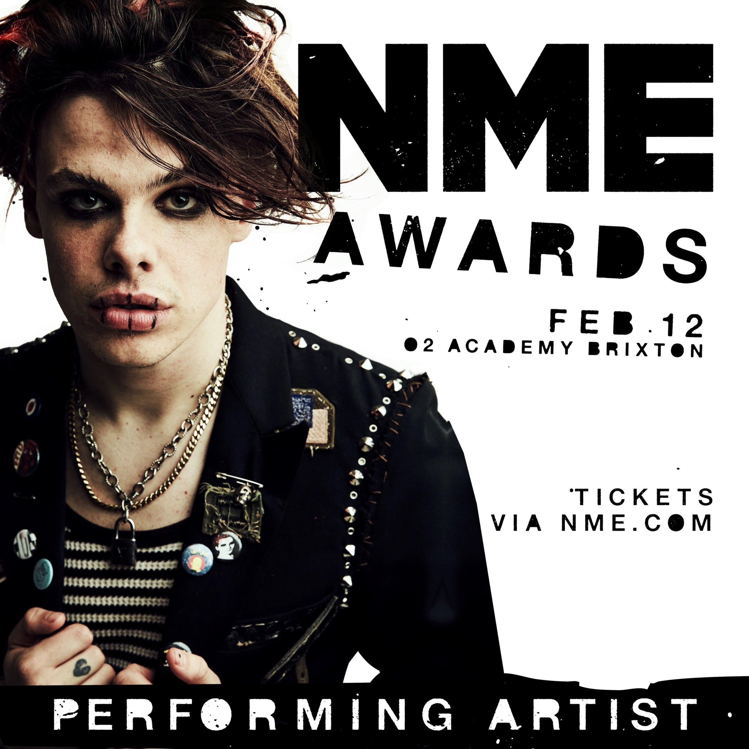 Yungblud is confirmed to perform at the 2020 NME Awards