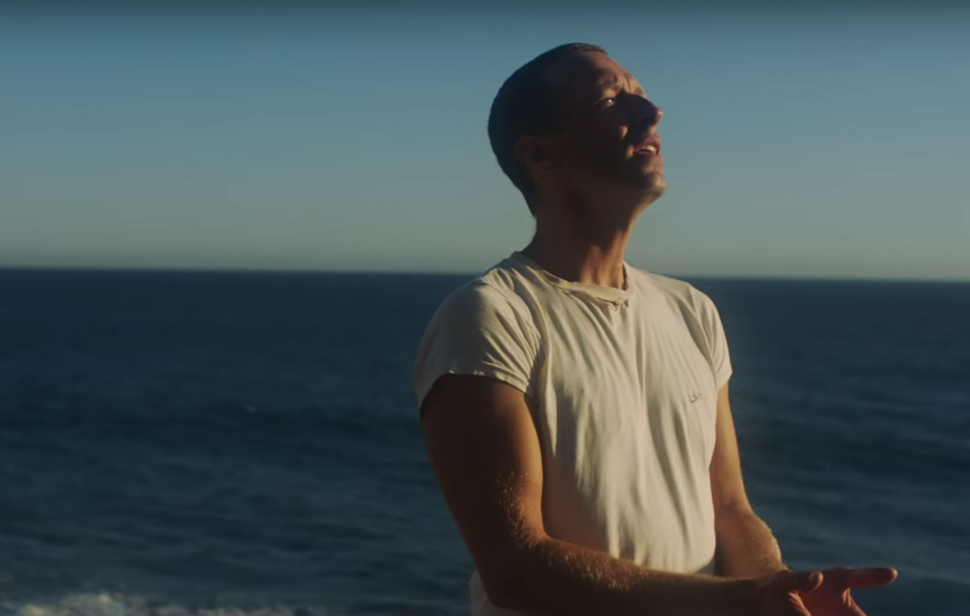 Coldplay's Chris Martin performs in the video for 'Everyday Life'
