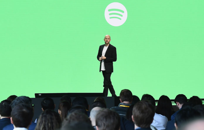 Founder and Chief Executive Officer of Spotify Daniel Ek