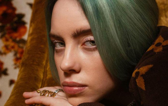Billie Eilish, shot for NME