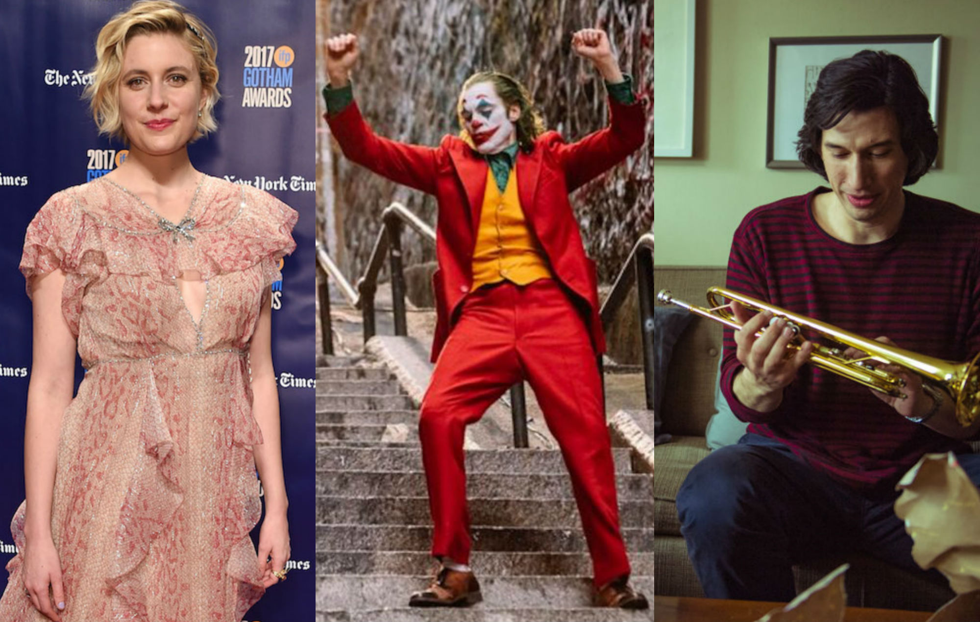 Golden Globes- Greta Gerwig, Joker and Marriage Story