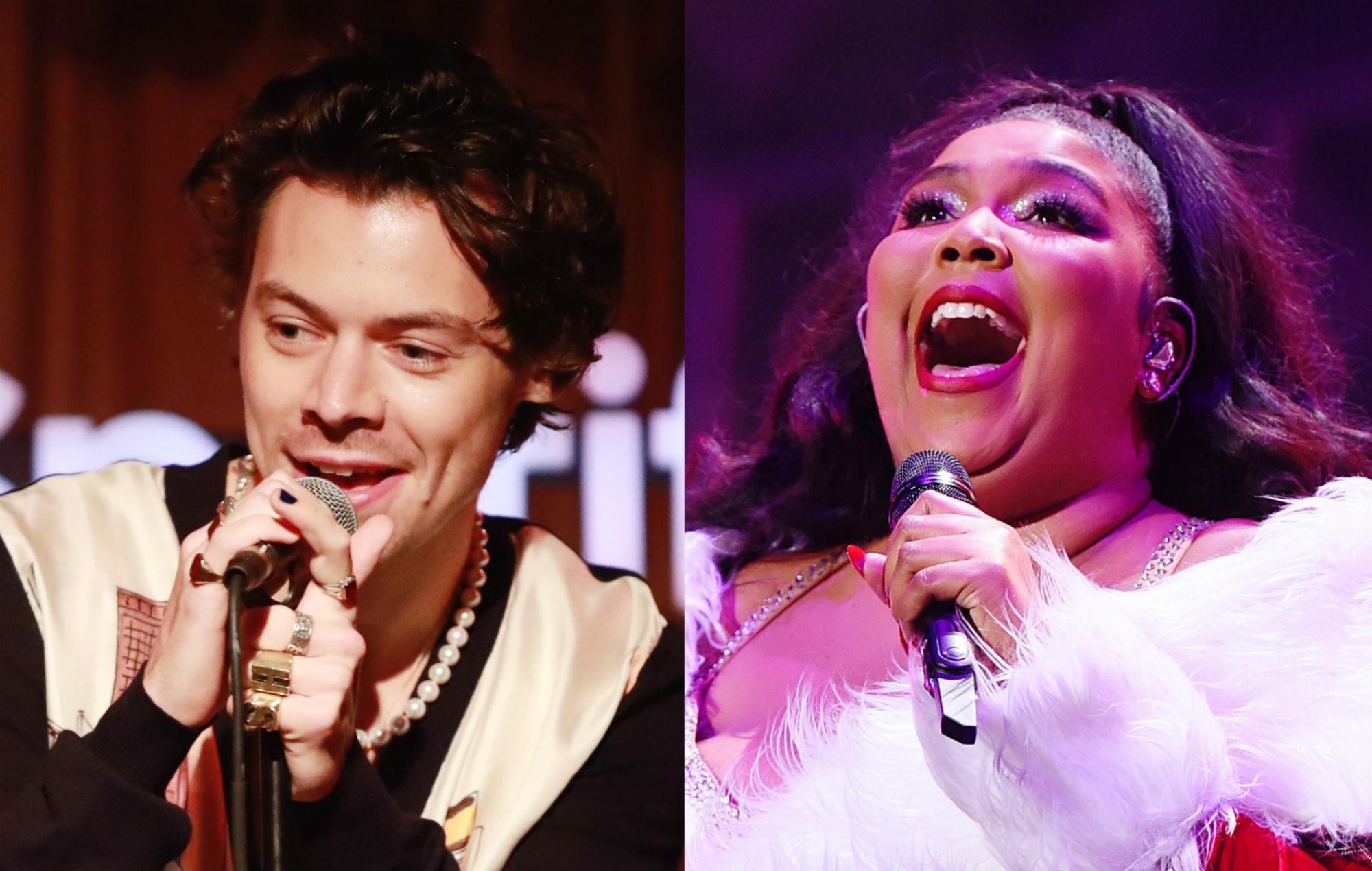 Harry Styles covers Lizzo's 'Juice'