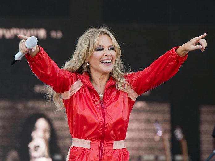 Kylie Minogue at Glastonbury 2019