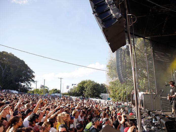 2016 St Jerome's Laneway Festival in Sydney