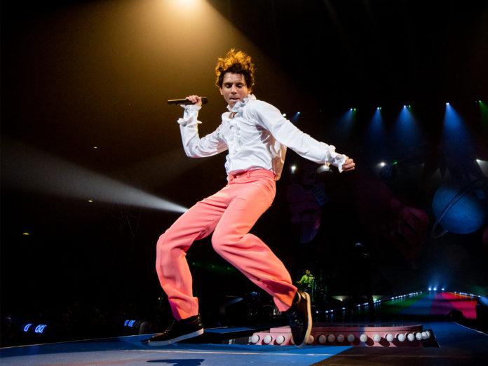 Mika performs in Rome Italy in November 2019