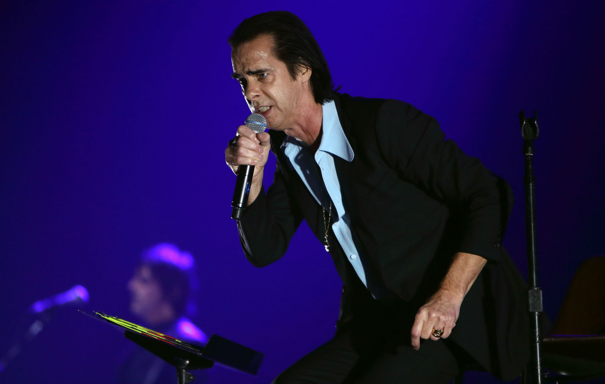 "Nick Cave tells of the ""pure and holy anger"" of grief"