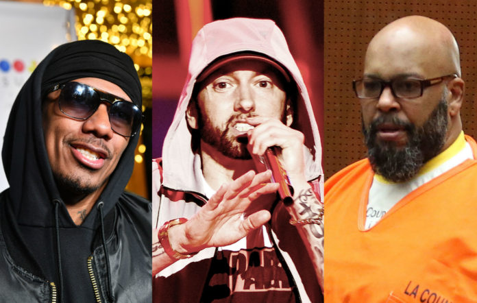 Nick Cannon, Eminem, Suge Knight