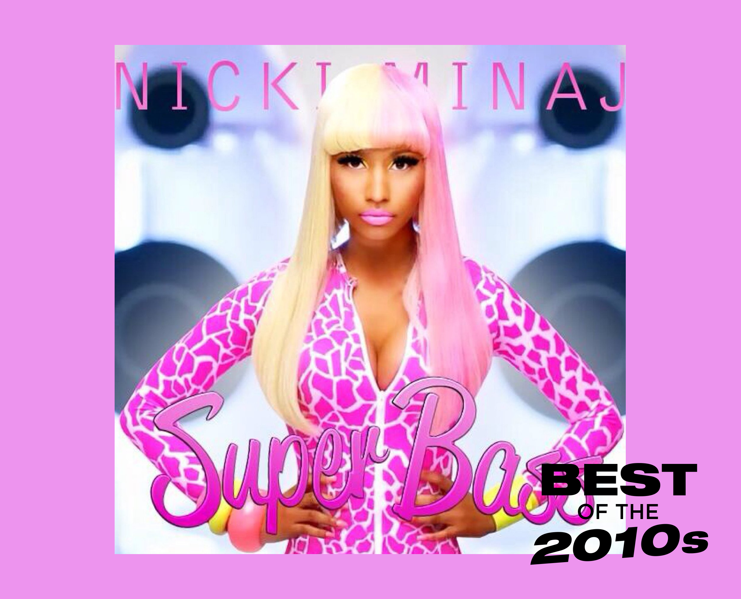 Nicki Minaj Super Bass artwork