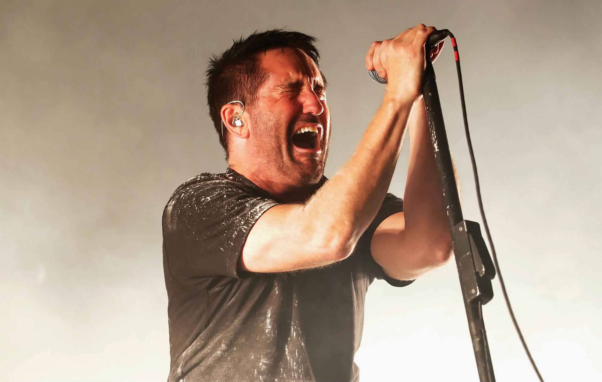 Nine Inch Nails Trent Reznor tour album 2020