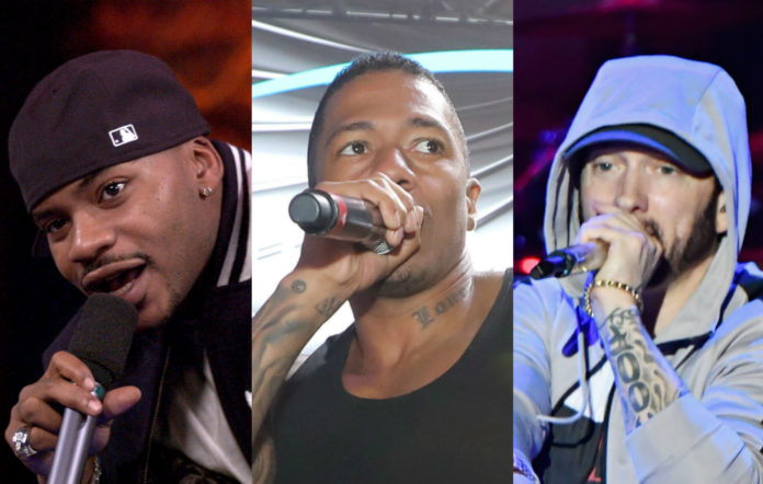 Obie Trice, Nick Cannon and Eminem