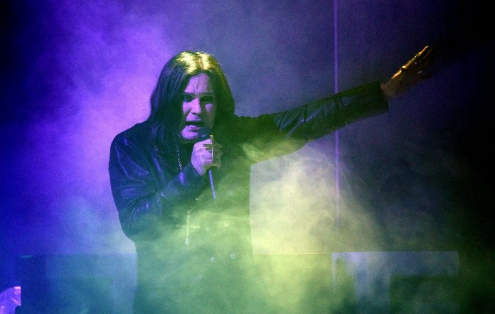 Ozzy Osbourne performs onstage during the 2019 American Music Awards