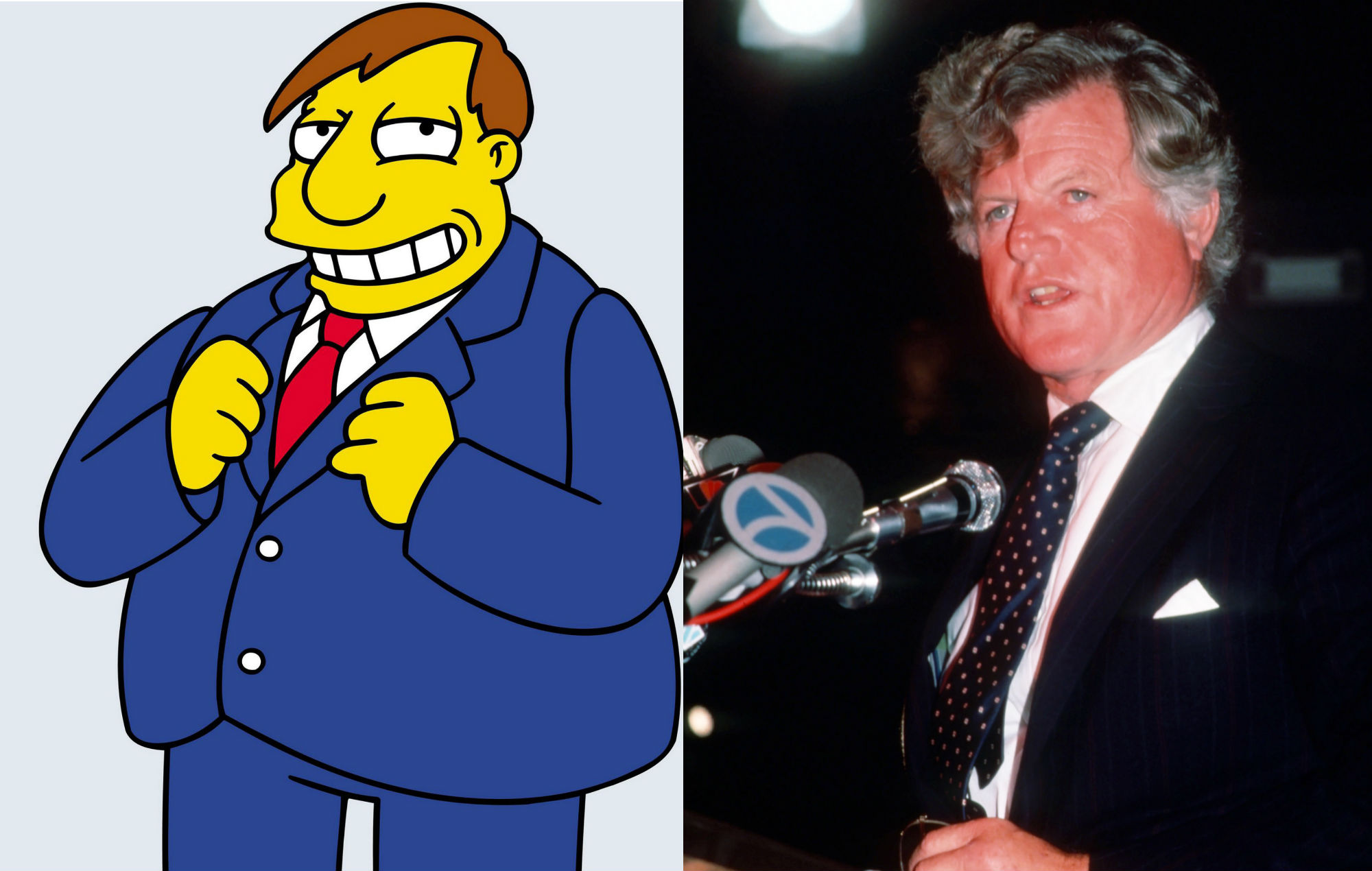 Mayor Quimby / Ted Kennedy The Simpsons