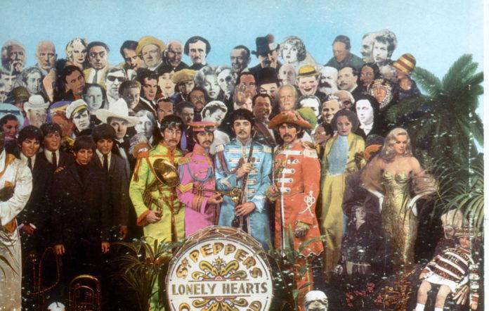 Beatles Sgt Pepper album cover