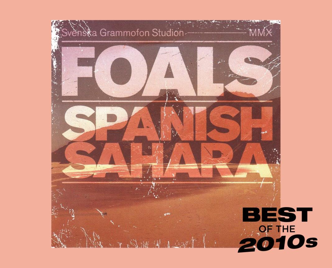Foals Spanish Sahara artwork