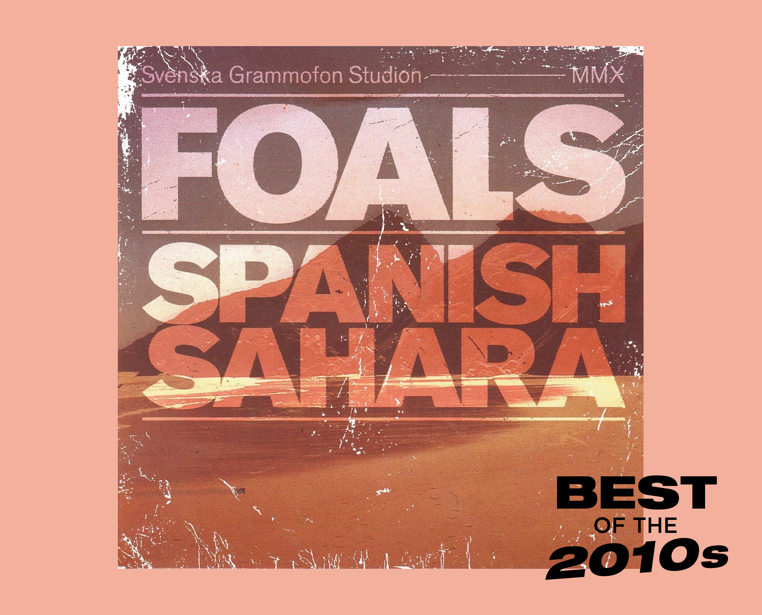 Foals Spanish Sahara artwork