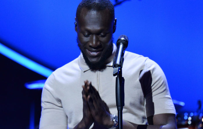 Stormzy performs at the 2019 Global Citizen Prize