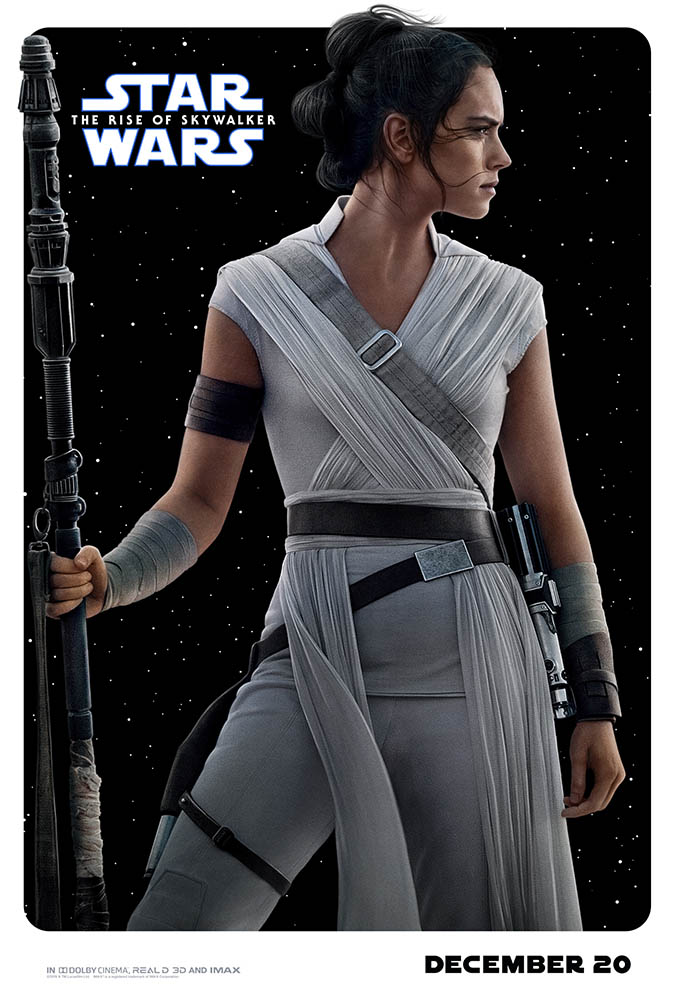 Rey in Star Wars