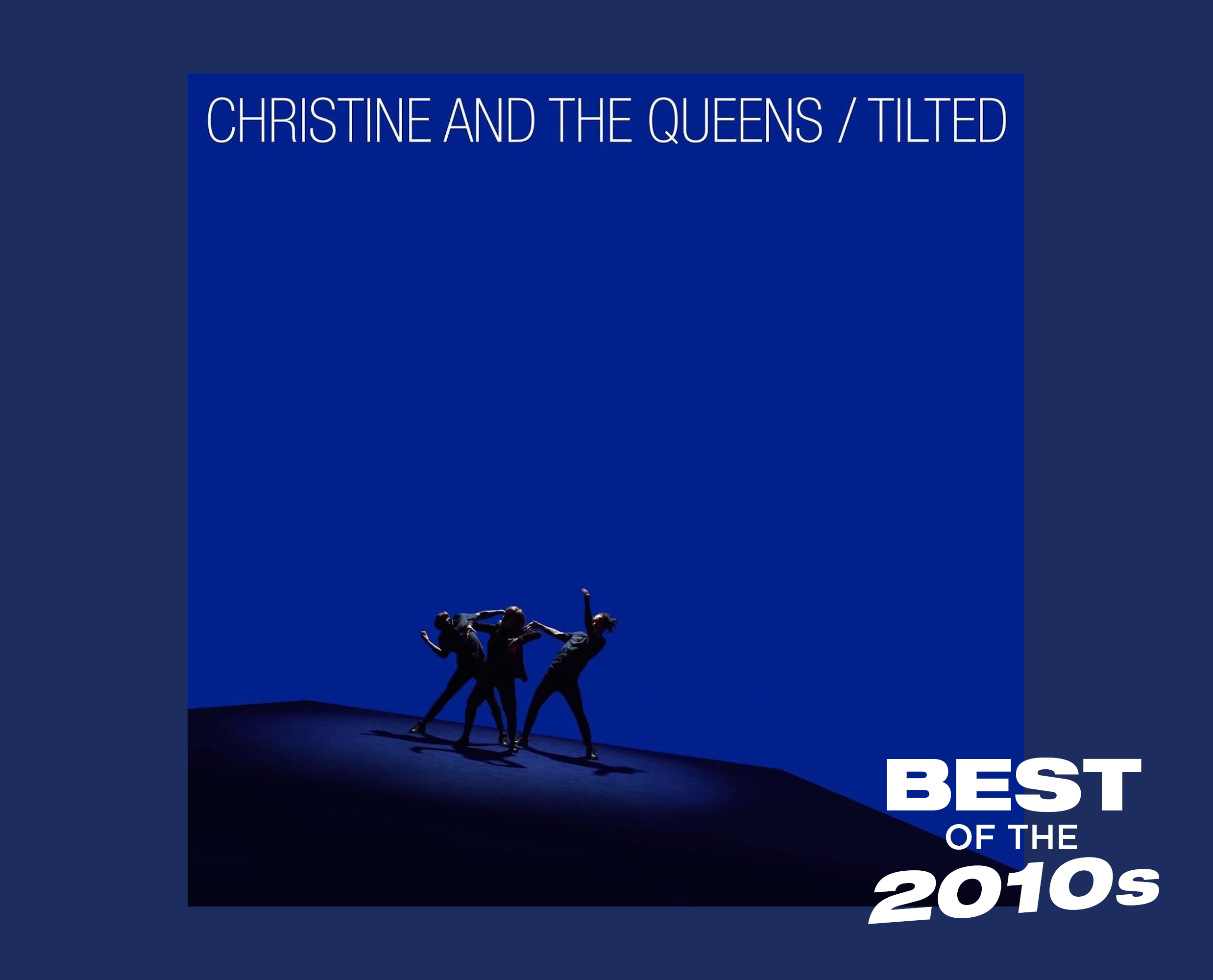 christine and the queens tilted artwork