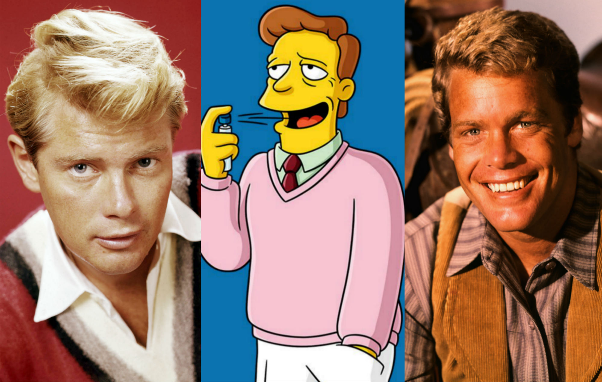 Troy McClure The Simpsons