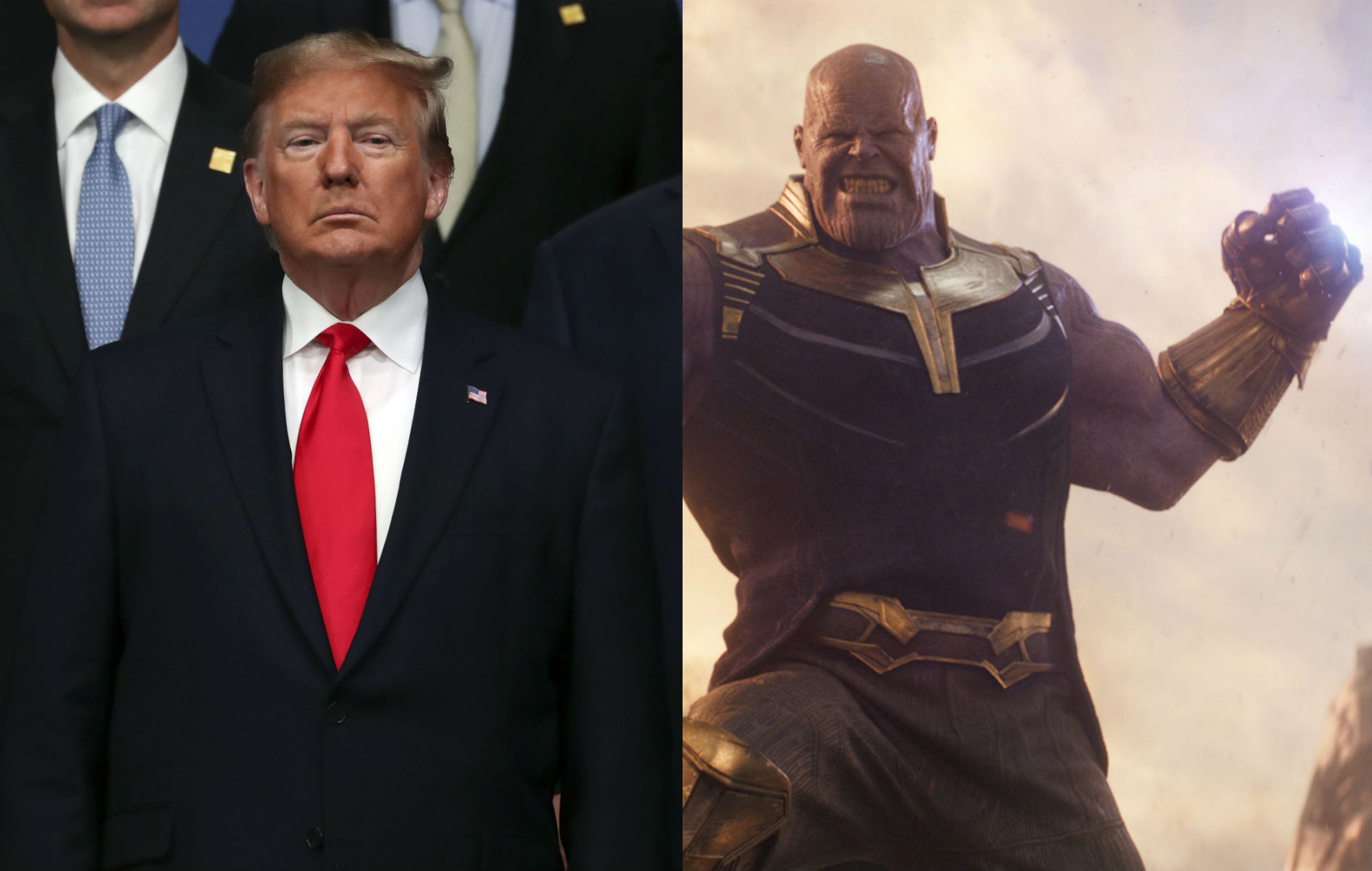 Donald Trump's campaign team portray President as Avengers
